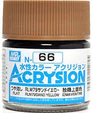 Acrysion N66 - RLM79 Sand Yellow (Semi-Gloss/Aircraft)