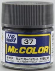 Mr. Color 37 - RLM75 Gray Violet (Semi-Gloss/Aircraft) C37