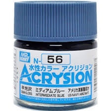 Acrysion N56 - Intermediate Blue (Semi-Gloss/Aircraft)