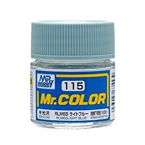 Mr. Color 115 - RLM65 Light Blue (Semi-Gloss/Aircraft) C115