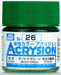 Acrysion N26 - Bright Green (Gloss/Primary)