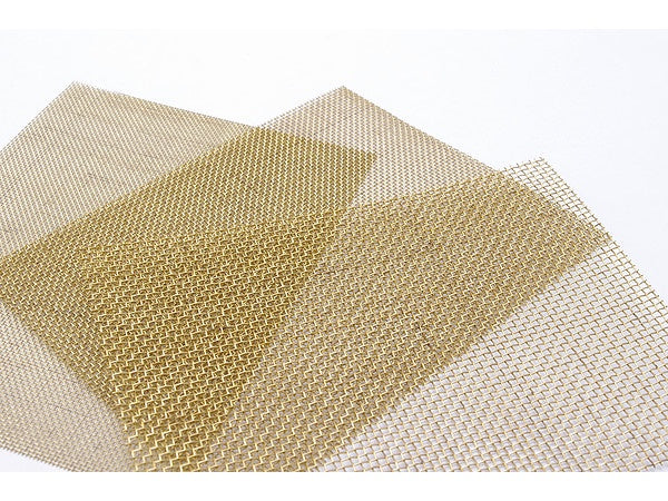 Brass Wire C Mesh #100 (Reticulation 0.15mm, Wire Diameter 0.10mm)