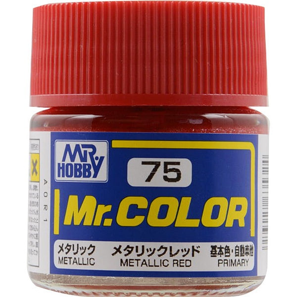 Mr. Color 75 - Metallic Red (Metallic/Primary Car) C75