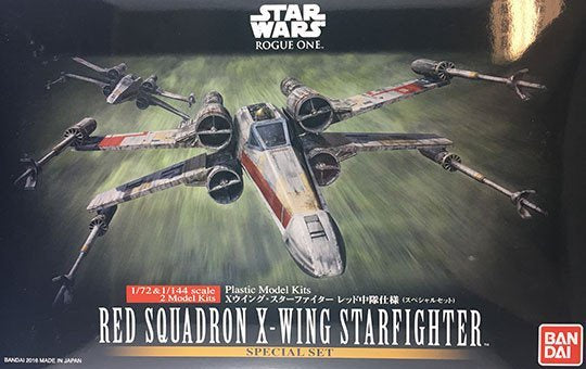 SW - 1/72 & 1/144 Red Squadron X-Wing Starfighter Special Set
