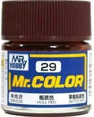 Mr. Color 29 - Hull Red (Semi-Gloss/Ship) C29