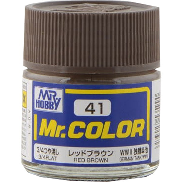 Mr. Color 41 - Red Brown (Flat/Tank) C41