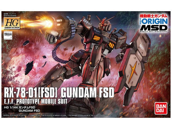 HG Gundam FSD - The Origin 1/144
