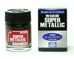 Mr Color Super Metallic - SM03 Iron