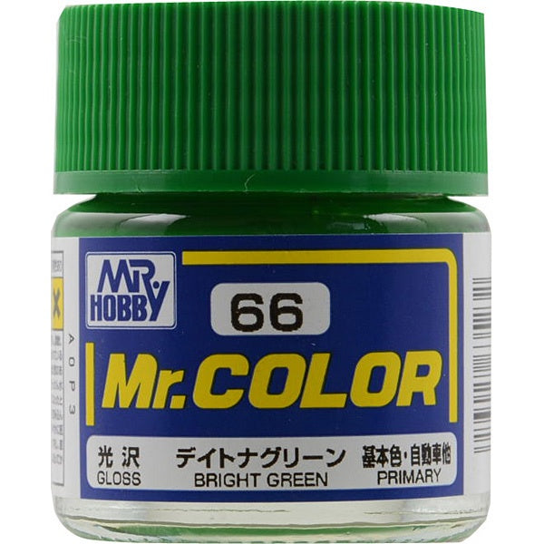Mr Color 66 - Bright Green (Gloss/Primary Car) C66