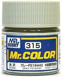 Mr. Color 315 - Gray FS16440 (Semi-Gloss/Aircraft) C315
