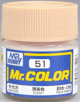 Mr. Color 51 - Flesh (Semi-Gloss/Primary) C51