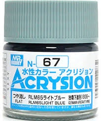 Acrysion N67 - RLM65 Light Blue (Semi-Gloss/Aircraft)