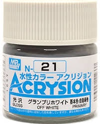 Acrysion N21 - Off White (Gloss/Primary)