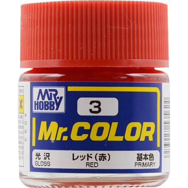 Mr. Color 3 - Red (Gloss/Primary) C3