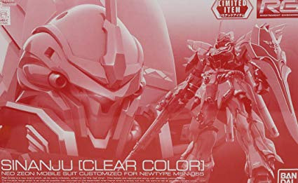 RG Sinanju [Clear Color] 1/144