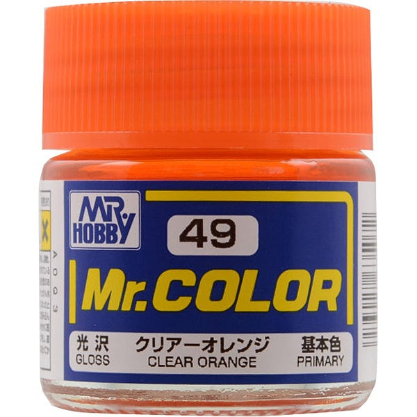 Mr. Color 49 - Clear Orange (Gloss/Primary) C49