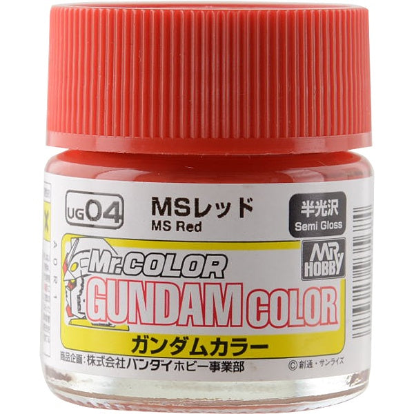 G Color - UG04 MS Red (Union A.F) - 10ml