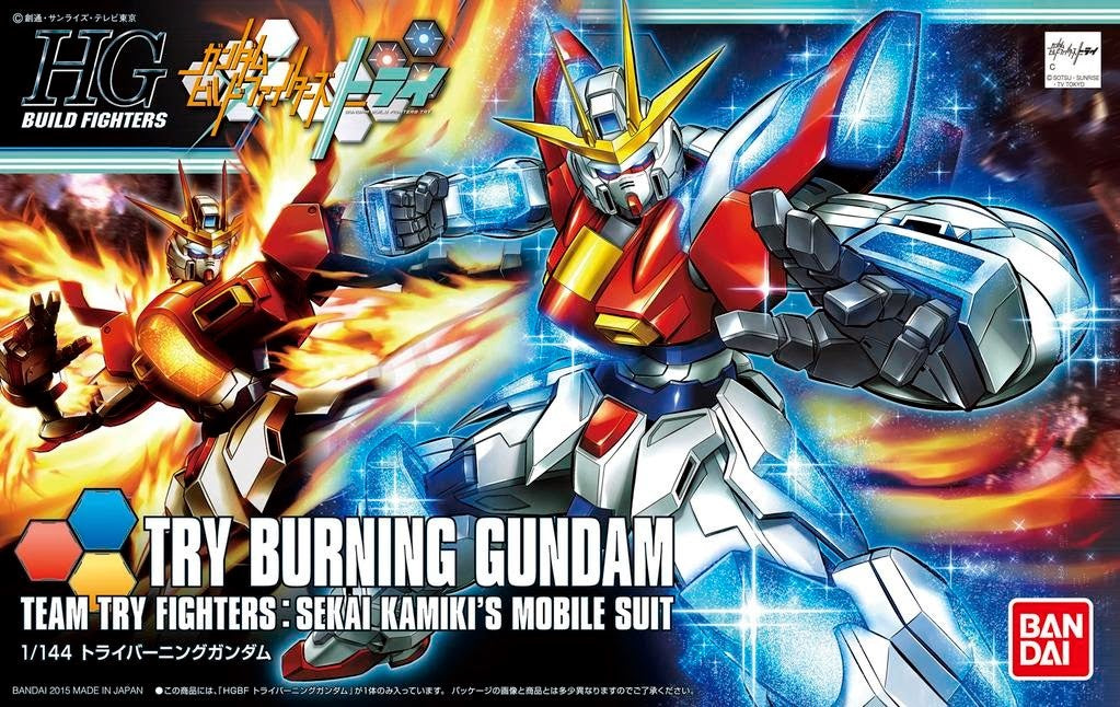 HGBF #028 Try Burning Gundam 1/144