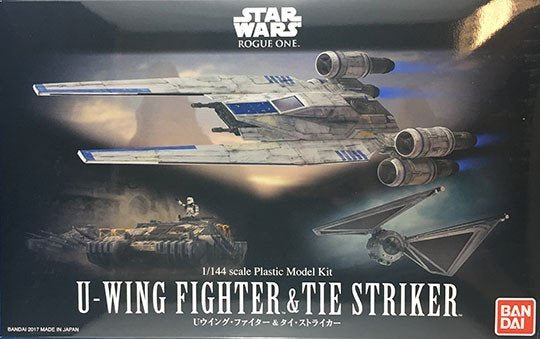 SW - 1/144 U-Wing Fighter & TIE Striker