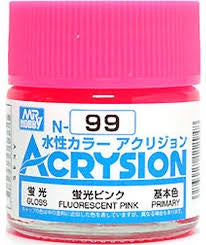 Acrysion N99 - Fluorescent Pink (Semi-Gloss/Primary)