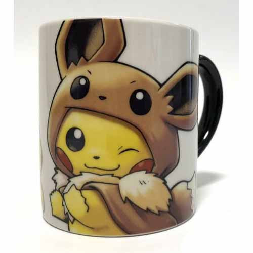 Pokemon Center Fan of Pikachu & Eevee Cup