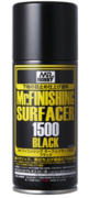 Mr Finishing Surfacer 1500 Black Can B526