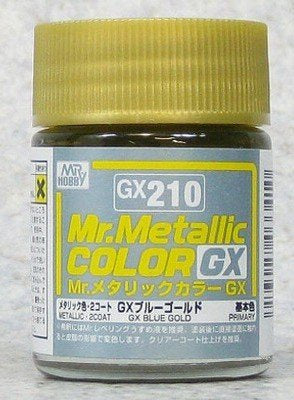 Mr Color GX210 Metal Blue Gold