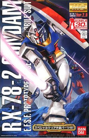 MG 1/100 RX-78-2 GUNDAM Ver.2.0 Gunpla 30th Anniversary