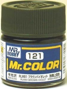 Mr. Color 121 - RLM81 Brown Violet (Semi-Gloss/Aircraft) C121