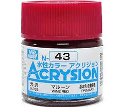 Acrysion N43 - Wine Red (Gloss/Primary)