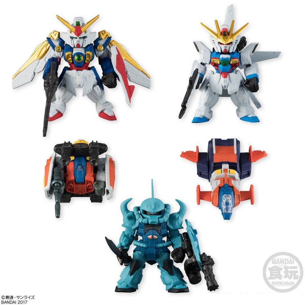Gundam Converge Selection [Limited Color Ver] Set of 5