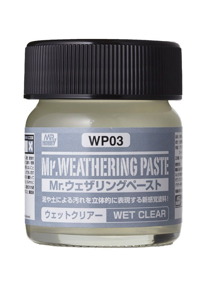 Mr Weathering Paste Wet Clear WP03