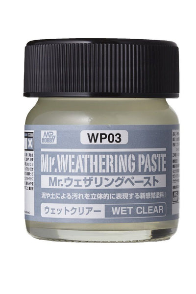 Mr. Weathering Paste Wet Clear WP03