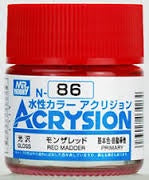 Acrysion N86 - Red Madder (Gloss/Primary)