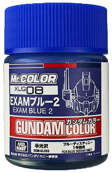 G Color - XUG08 Exam Blue 2