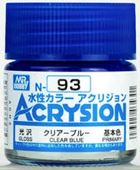 Acrysion N93 - Clear Blue (Gloss/Primary)