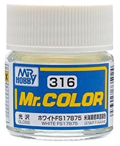 Mr. Color 316 White FS17875 (Gloss/Aircraft) C316