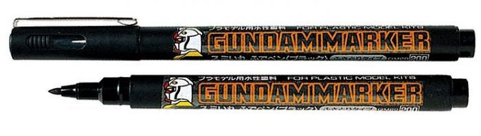 Gundam Marker - Gundam Black (Brush Type) GM20
