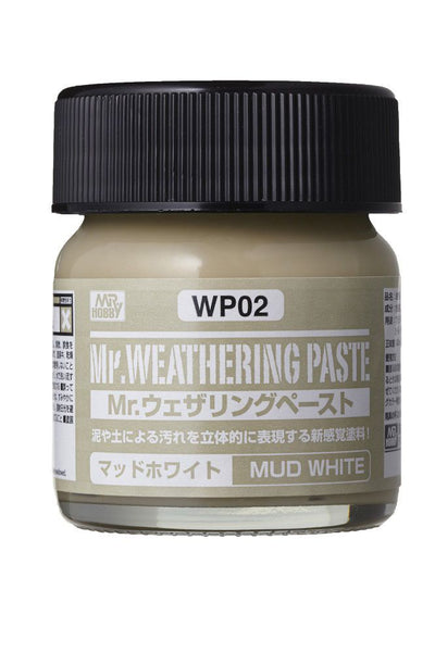 Mr. Weathering Paste Mud White WP02