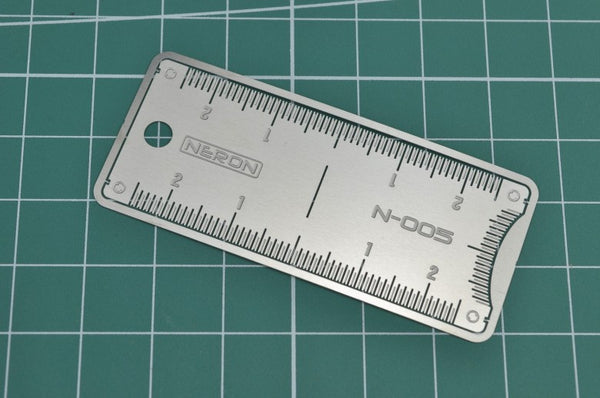 MAD - Neron N-005 Photo-Etch Symmetric Ruler