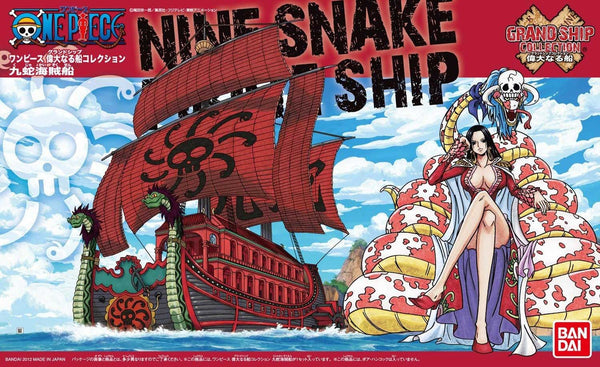 OP - Grand Ship Collection - Nine Snake Pirates Ship