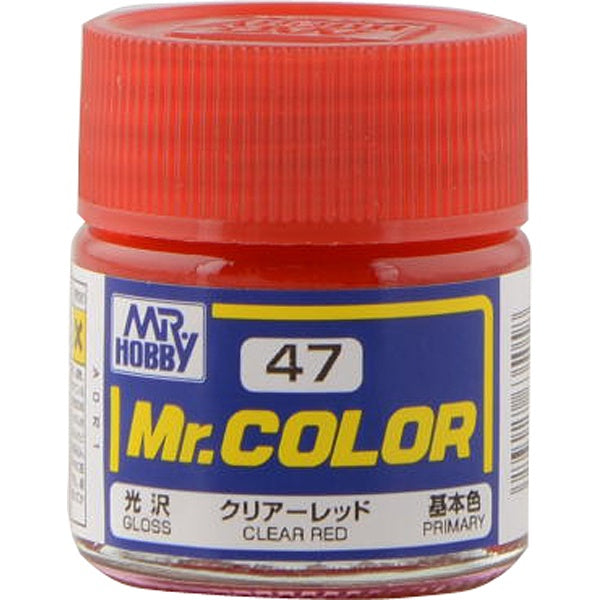 Mr Color 47 - Clear Red (Gloss/Primary) C47
