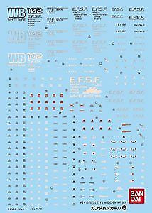 Gundam Decal 4 - RX-78-2 Gundam Ver. One Year War 0079