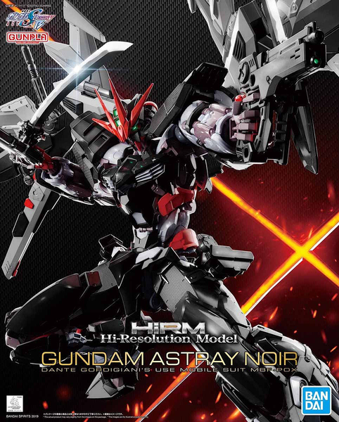 High-Resolution Model Gundam Astray Noir 1/100