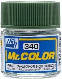 Mr. Color 340 Field Green FS34097 (Semi-Gloss/Aircraft) C340