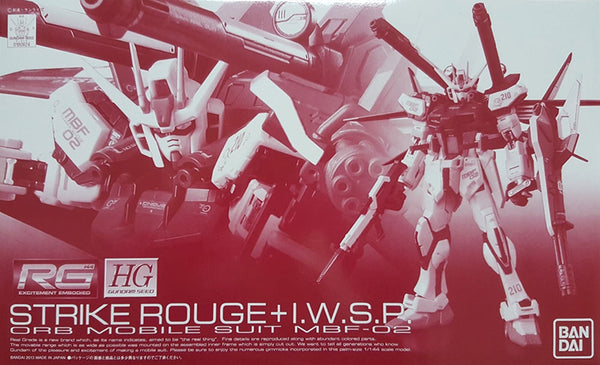 RG Strike Rouge + IWSP 1/144