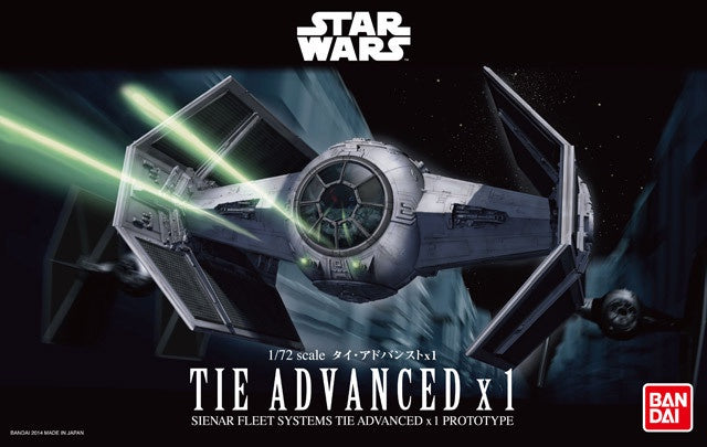 SW -TIE Advanced X1 1/72