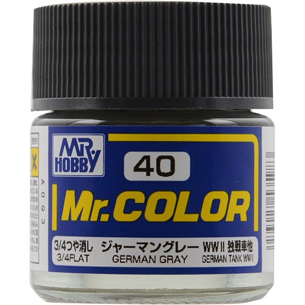 Mr. Color 40 - German Gray (Flat/Tank) C40
