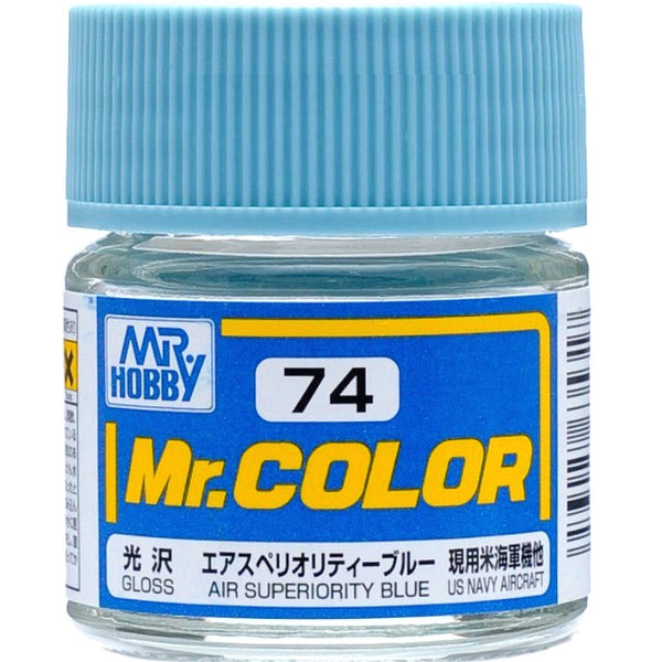 Mr. Color 74 - Air Superiority Blue (Gloss/Aircraft) C74