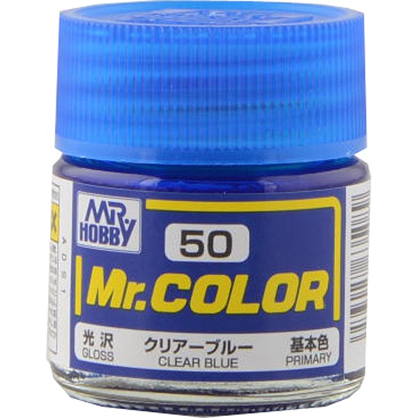 Mr. Color 50 - Clear Blue (Gloss/Primary) C50